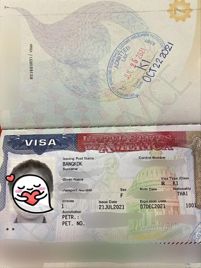 US Visa Khun Fai
